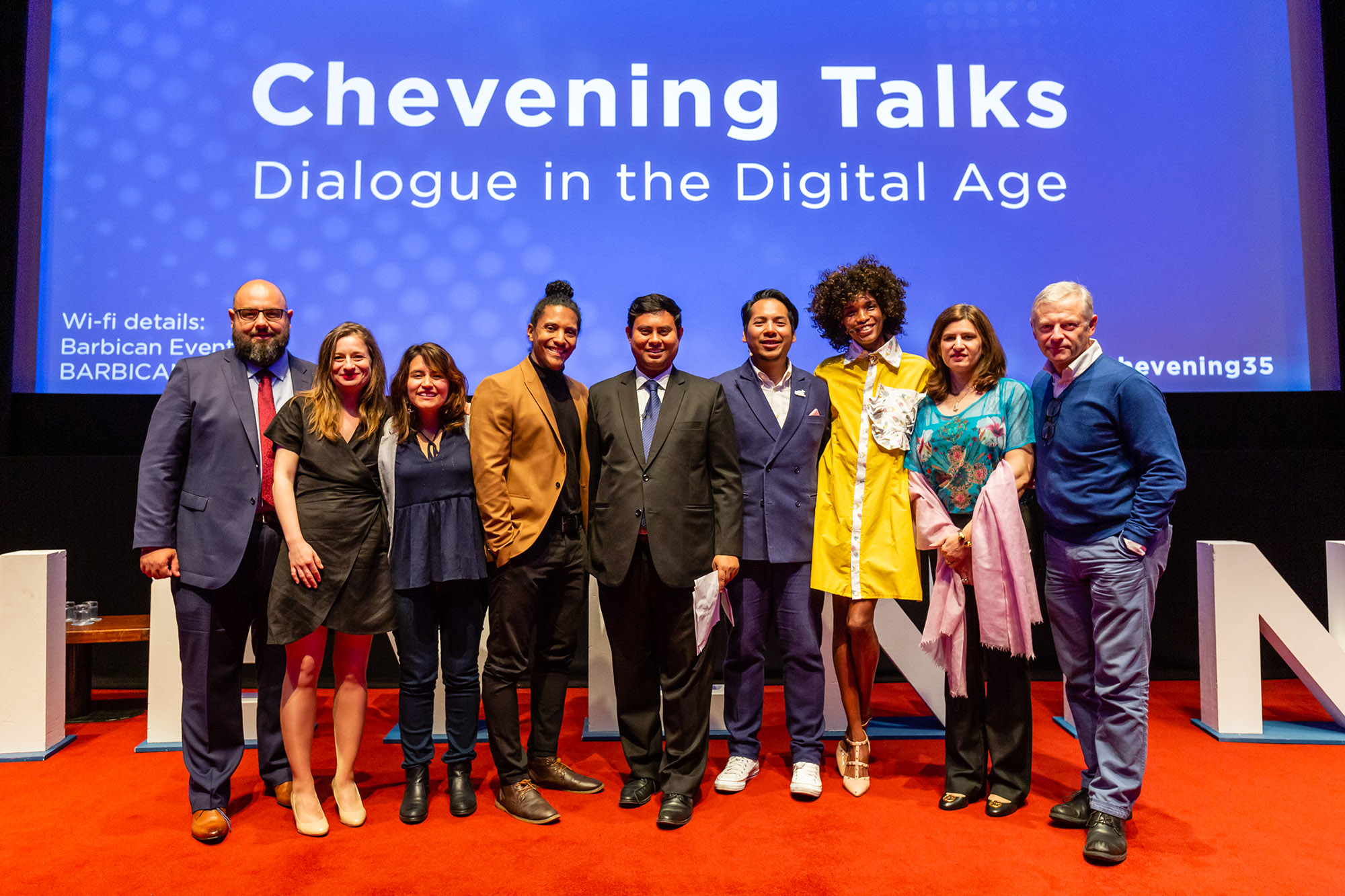 Breaking barriers and creating bridges at Chevening Talks